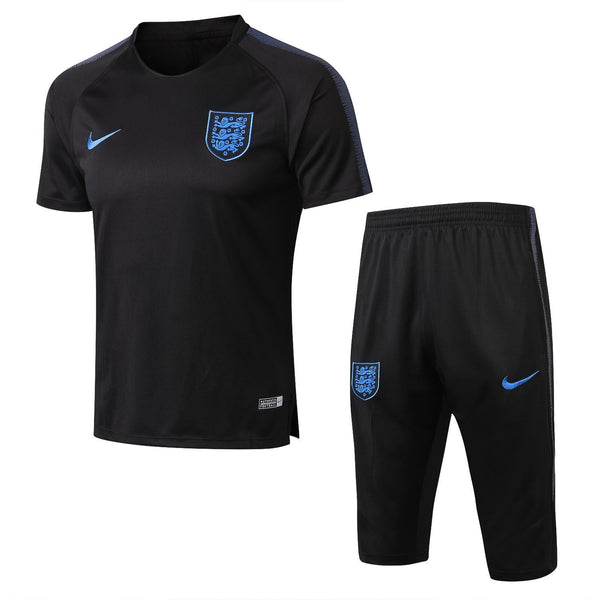 England | Black Short Training Suit 18/19 - SoccerTriads