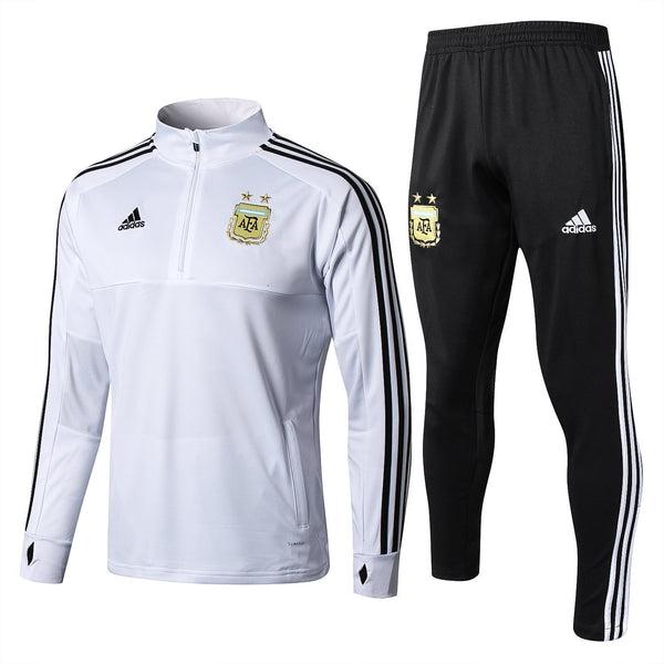 Argentina  | White | Training Top + Pants 18/19 - SoccerTriads