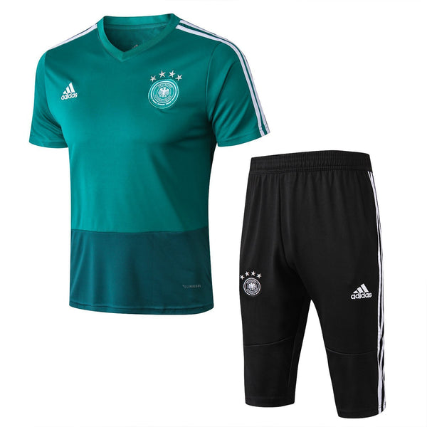 Germany | Green Short Training Suit 18/19 - SoccerTriads