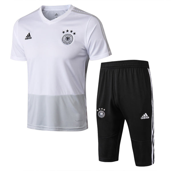 Germany | White Short Training Suit 18/19 - SoccerTriads