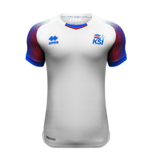 Iceland | Away Kit 17/18 - SoccerTriads