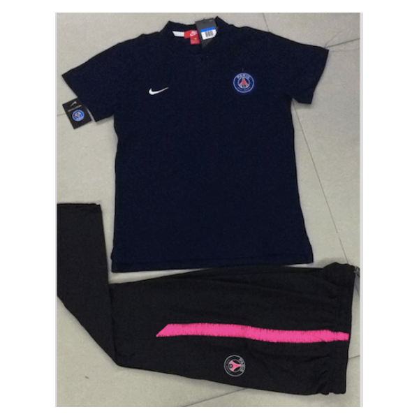 PSG | Polo + Pants Training Suit - SoccerTriads