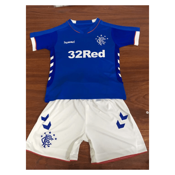Rangers FC | Kids | Home Kit 18/19 - Discount Soccer Jerseys