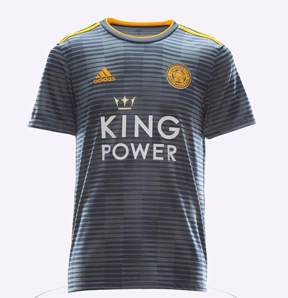 Leicester City | Grey Away Kit 18/19 - Soccer-Triads.co.uk