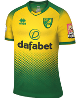 Norwich City | Home Shirt 19/20 - Discount Soccer Jerseys