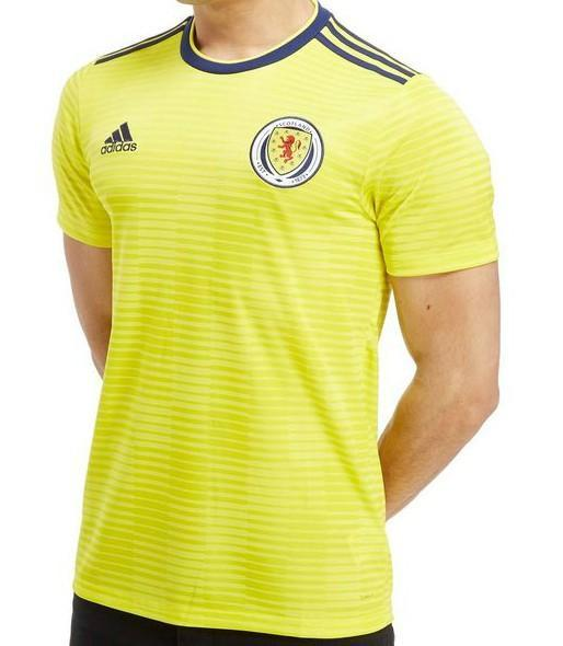 Scotland | Away Kit 17/18 - SoccerTriads