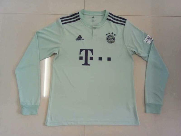 Bayern | Away Kit 18/19 | Long Sleeves - SoccerTriads