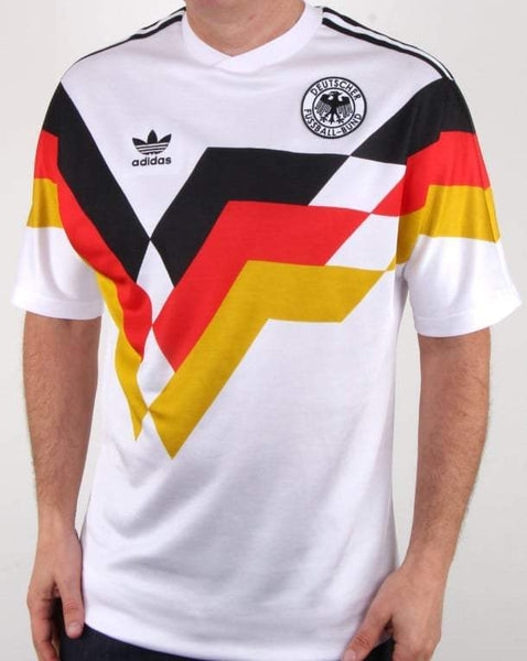 Germany | 1990 Home Shirt - Discount Soccer Jerseys