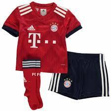 Bayern | Kids | Home Kit 18/19 - SoccerTriads
