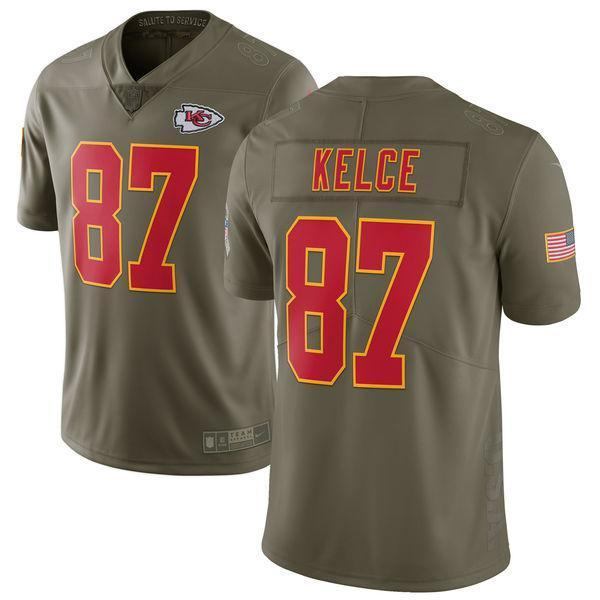 Kansas City Chiefs | Travis Kelce - Salute To Service - Soccer-Triads.co.uk