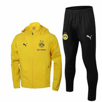 Dortmund | Yellow Windbreaker Jacket + Pants Training Suit 18/19 - Soccer-Triads.co.uk