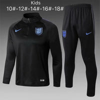 England | Black Type A Kids Training Top + Pants 18/19 - Soccer-Triads.co.uk