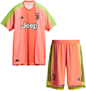 Juventus | Palace Limited Edition Kids Goalkeeper Kit 19/20 - Discount Soccer Jerseys