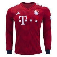 Bayern | Home Kit 18/19 | Long Sleeves - SoccerTriads