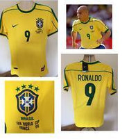 Brazil | Home Shirt 1998 - Discount Soccer Jerseys