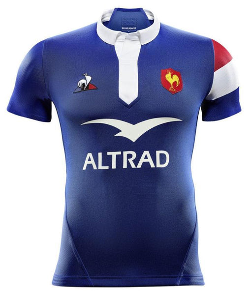 France Rugby Union Shirt | Home 18-19 - Soccer-Triads.co.uk