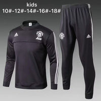 Man Utd | Kids Training Top + Pants 17/18 - Soccer-Triads.co.uk