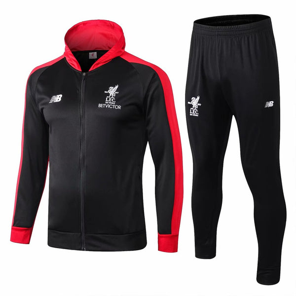 Liverpool | Hoodie Jacket + Pants Training Suit 19/20 - Discount Soccer Jerseys