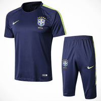 Brazil | Blue  Short Training Suit 18/19 - SoccerTriads