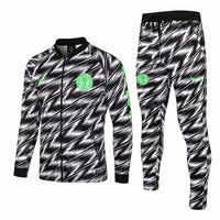 Nigeria | White | Training Tracksuit 18/19 - SoccerTriads