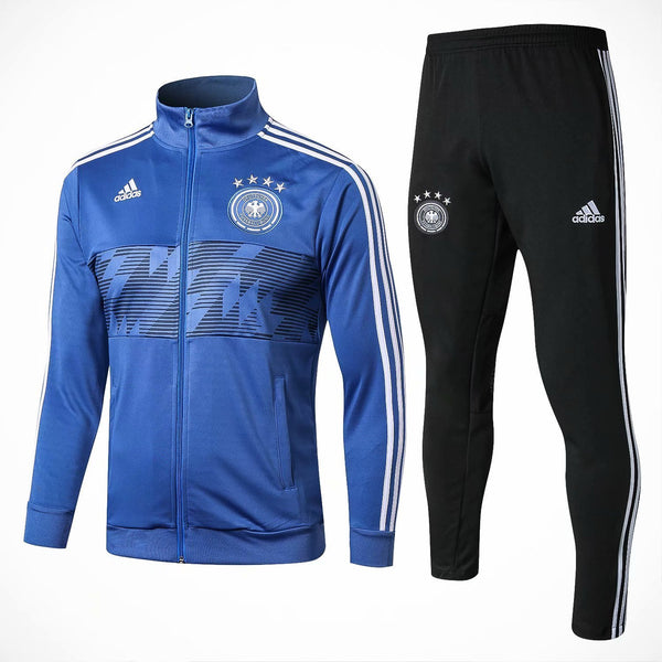 Germany | Blue | Training Tracksuit 18/19 - SoccerTriads