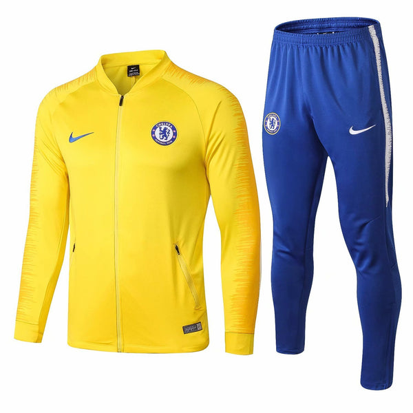 Chelsea | Yellow Training Tracksuit 18/19 - SoccerTriads
