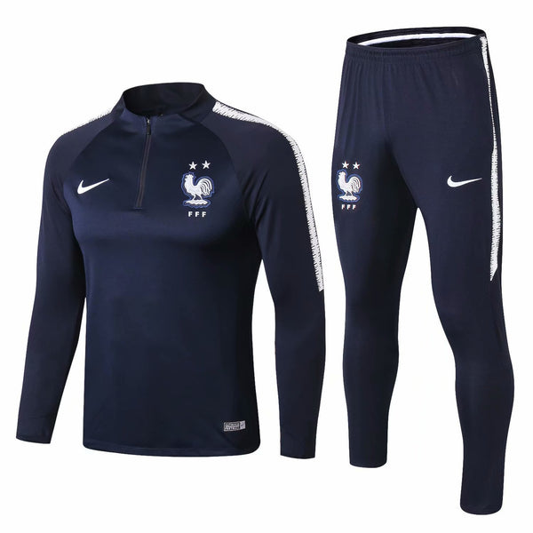 France | Blue Type A | Training Top + Pants 18/19 - SoccerTriads