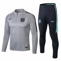 Barcelona | Grey | Training Top + Pants 18/19 - SoccerTriads