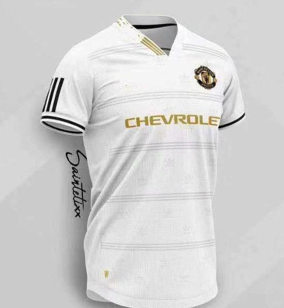 Manchester United | Training Shirt Gold - Discount Soccer Jerseys