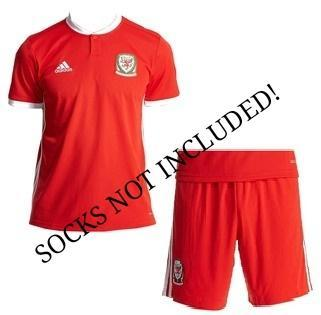 Wales | Kids Home Kit 18/19 - SoccerTriads