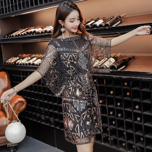 Embroidery Casual Club Party Dress