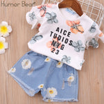 Load image into Gallery viewer, Girls Clothing Set Kids Cartoon Clothes Set