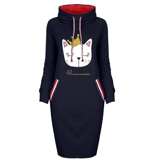 Cartoon Bodycon Dresses Vintage Clothes