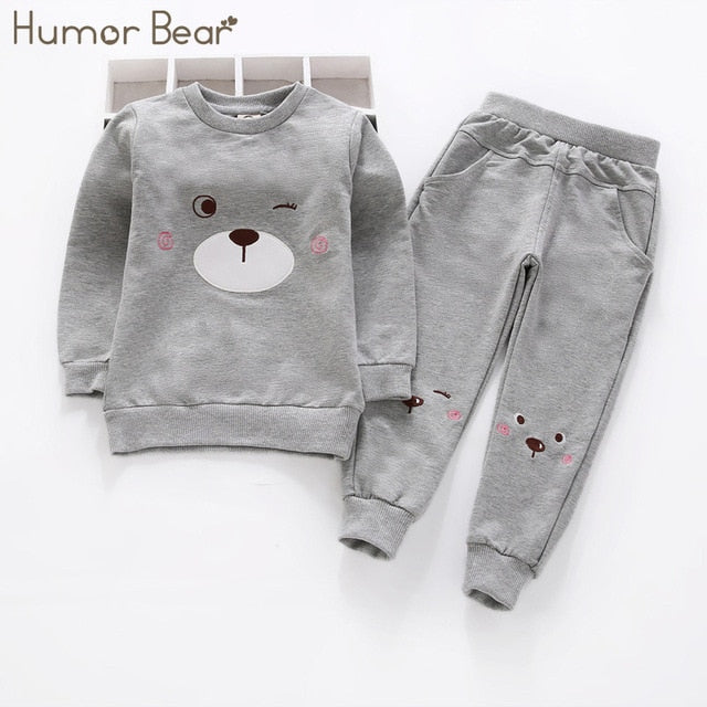 Cartoon design Long Sleeve Sports Suits