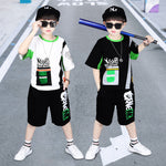 Load image into Gallery viewer, T Shirt - Shorts Kids Boys Clothes