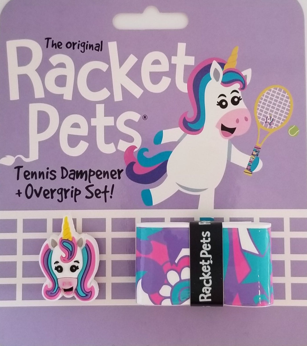 Unicorn - tennis racket dampener overgrip animals