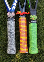 tennis gift idea - animal theme tennis grip tape and dampener in various colors