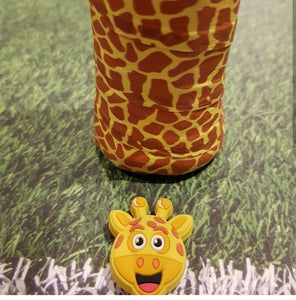 Overgrip - Giraffe (pack of 2) - tennis racket dampener overgrip animals