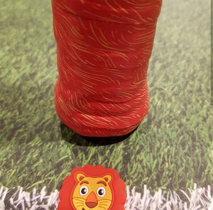 Lion - tennis racket dampener overgrip animals