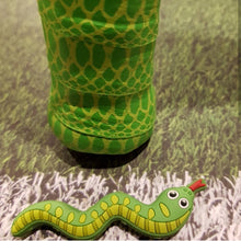 Green Snake - tennis racket dampener shock absorber over grip tapeanimals