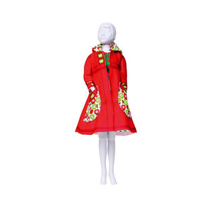 Set de croitorie hainute pentru papusi Couture Fanny Apples, Dress Your Doll