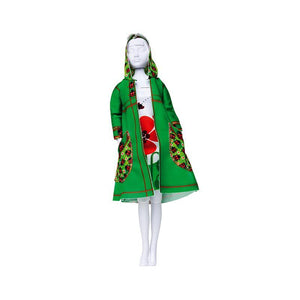 Set de croitorie hainute pentru papusi Couture Fanny Ladybug, Dress Your Doll