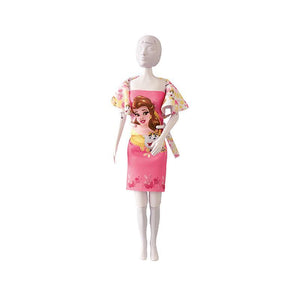 Set de croitorie hainute pentru papusi Couture Disney Dolly Beauty Roses, Dress Your Doll
