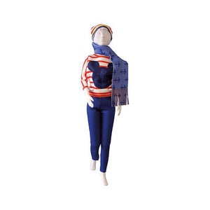 Set de croitorie hainute pentru papusi Couture Disney Kathy Navy, Dress Your Doll
