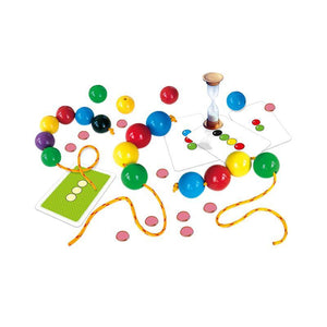 Joc educativ margele jumbo de insirat Bead for Speed, Alexander Games
