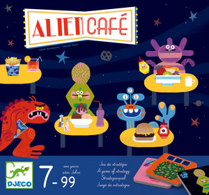 Joc de strategie Djeco, Alien cafe