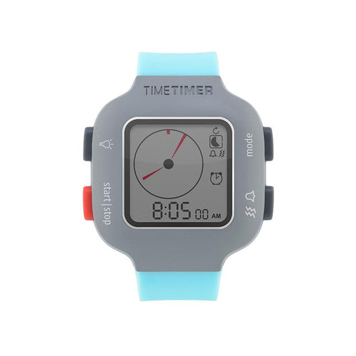 Ceas temporizator de mana Time Timer Watch Plus Youth, turquoise, Robo