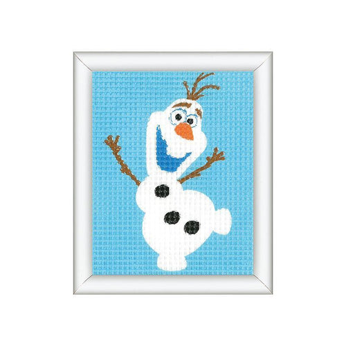 Kit creativ coasere in cruce Disney Olaf, Kits4Kids - Manute Creative