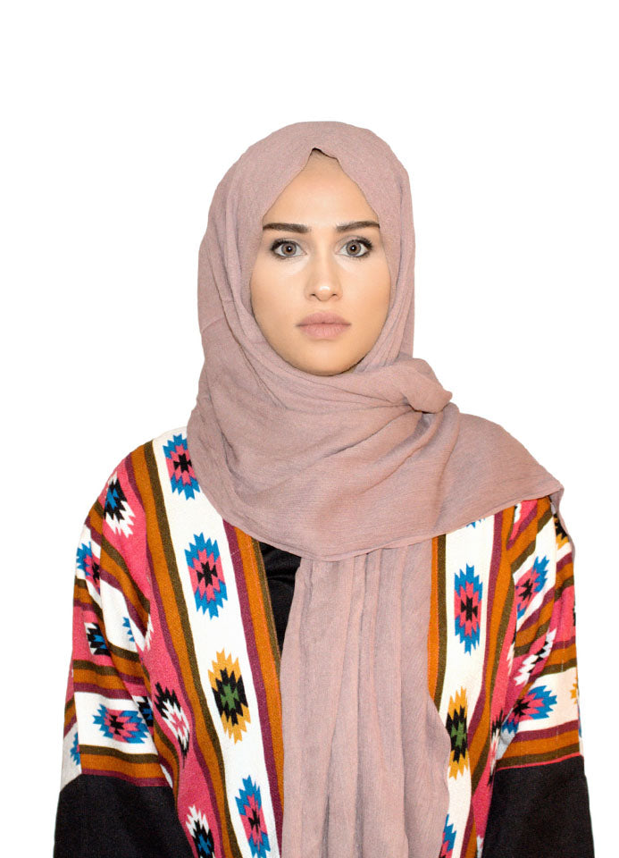 Mauve Rayon Scarf by Hijab Avenue - Noor Boutique