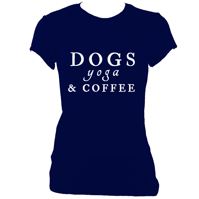 Dogs, Yoga and Coffee Ladies Tee